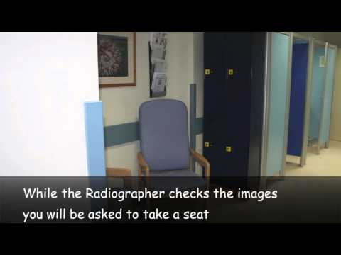 Guidance for x-ray patients at Jersey General Hospital