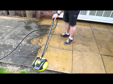Karcher K4 - Parkside surface cleaner - patio cleaning