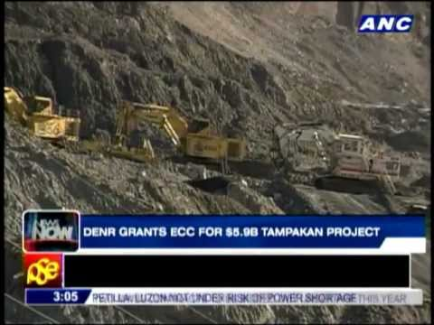 DENR grants ECC for Tampakan mine project