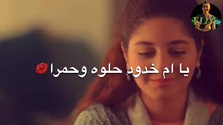 احلي حالة واتس رومانسيه مهرجان يا ام خدود حلوه وحمرا + مسلسل كأنه امبارح