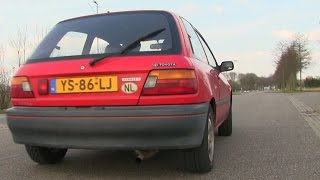 my 600hp toyota starlet w 2jz toyota supra engine   loud anti lag sounds revs
