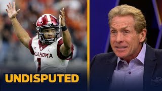 Skip and Shannon disagree on Oklahoma claiming the 4th spot in the CFB Playoff | CFB | UNDISPUTED