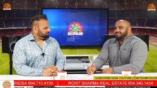 LIVE KABADDI SUPERSTAR INTERVIEW SANDEEP LUDHAR WITH LUCKY KURALI