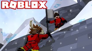 BEWARE, MOOSE! -Roblox Mount Everest Climbing Danish feat. The Manly Moose