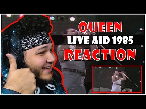 🎤 Hip-Hop Fan Reacts To Queen - Live at LIVE AID 1985 🎸