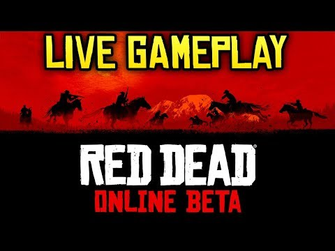 Red Dead Online LIVE GAMEPLAY - Battle Royale, Hunting, Posses & More