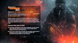 The Division beta ps4 error delta 20010159