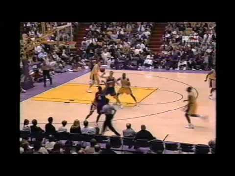 1996-97 Pre-Season Phoenix@LA Lakers HIGHLIGHTS