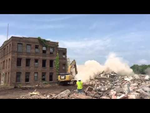 General Dynamics Tower Demolition