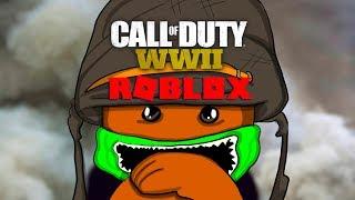 CALL OF DUTY WW2 AUF ROBLOX (ZOMBIES)