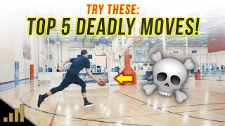 How to: Top 5 Simple Basketball Scoring Moves That Are UNGUARDABLE!
