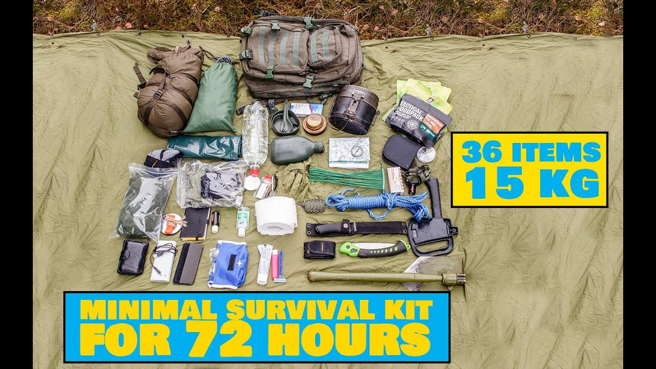 Bug Out Bag / Pane plehku kott - Outdoors Camping Tips