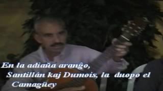 Santillán kaj Dumois  / Fragmento de la canción Esperanto