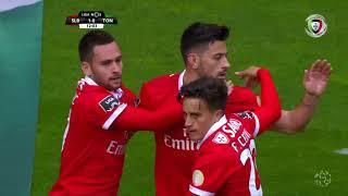 Goal | Golo Pizzi: Benfica (1)-0 Tondela (Liga 17/18 #32)