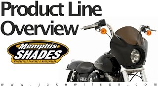Motorcycle Windshields & Fairings - Memphis Shades