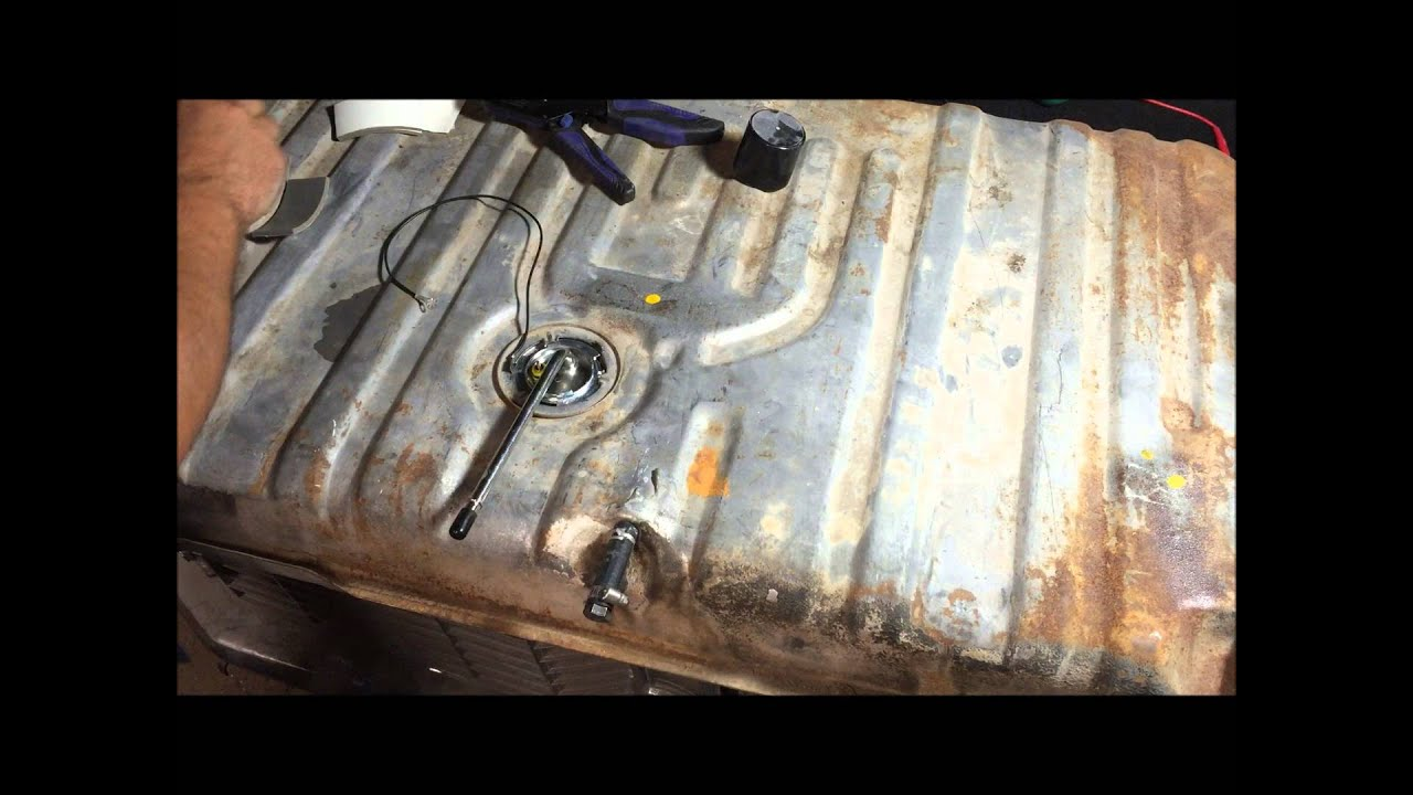 chevelle fuel gas tank install and INFO 6872 GM a body