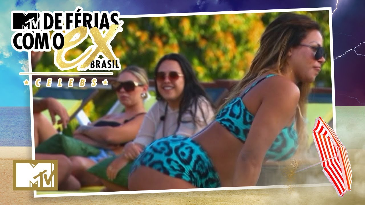 Flavia se incomoda com dança de Gabily | MTV De Férias Com o Ex Brasil Celebs T7 E6