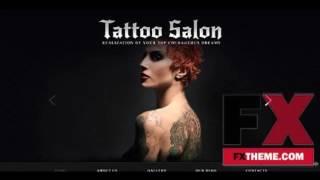 Tattoo Salon Joomla Template by Glenn Joomla TMT by Hiroki Jackie