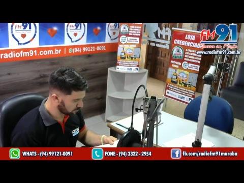 Rádio FM 91 Marabá 90,9mhz | Ao vivo | www.radiofm91.com.br