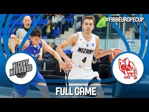 Nizhny Novgorod (RUS) v Karposh Sokoli (MKD) - Full Game - FIBA Europe Cup 2017-18