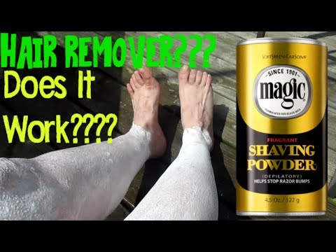 Magic Shave Powder Does It Really Work Youtube