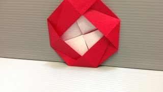 Daily Origami: 117 - Camellia