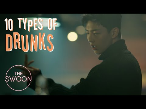 10 Types Of Drunks | According To Korean Dramas [ENG SUB CC]