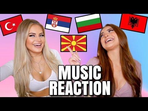 BALKAN MUSIC REACTION   MERO, HURRICANE, DENIS TEOFIKOV, ENCA, 2BONA