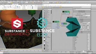 How to use Substance Textures and Bitmap2Material in 3dmax