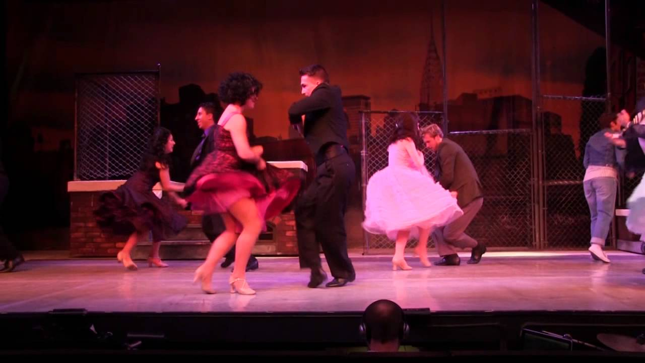 West Side Story At Dutch Apple Dinner Theatre Youtube