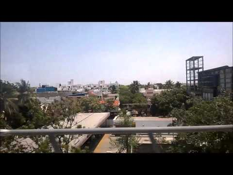 Chennai Metro ride from Ashok Nagar to Ekkaduthangal