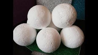 как сделать пенопластовый шар d - 7 и 10 см., станок для изготовления шаров