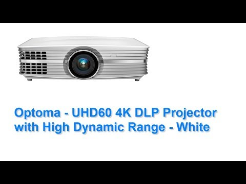 Optoma UHD60 4K DLP Projector Review by a Real User