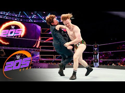 Thumbnail: Gentleman Jack Gallagher vs. The Brian Kendrick: WWE 205 Live, June 27, 2017
