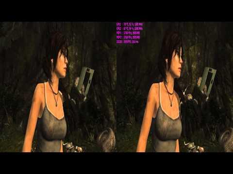 Tomb Raider 2013 Nvidia 3D Vision 2 GTX970 SLI Test