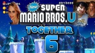 Let's Play Together New Super Mario Bros U Part 6