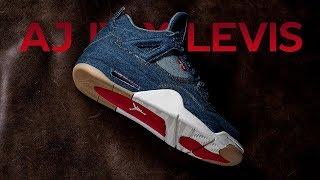 Unboxing и обзор коллаборации Levis x Air Jordan 4