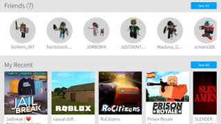 FIRST MY ROBLOX ACCOUNT INTRODUCTION! 👍👍