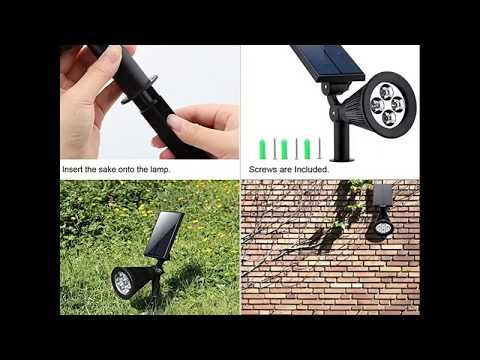 Solar Lights,URPOWER 2-in-1