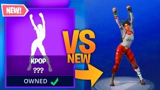 TOUS les 'NEW' Fortnite EMOTES ET SKINS en 3D - Sound Leaked!