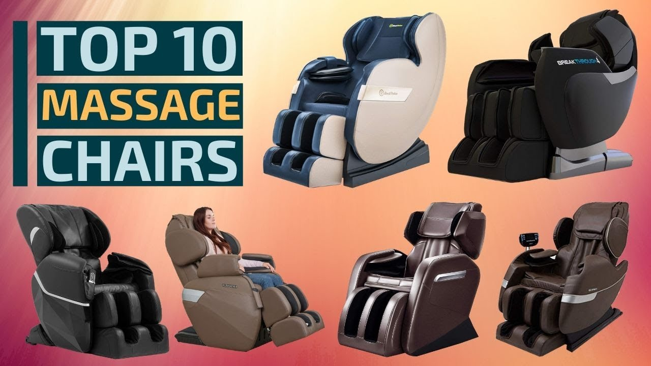 Top 10: Best Full Body Massage Chairs in 2019 | Best Shiatsu Massage Therapy Chairs