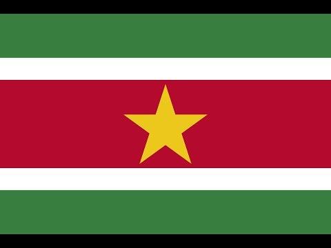 Флаг Суринама.