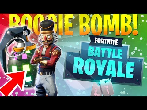 NEW ITEM! - BOOGIE DANCE PARTY! (Fortnite Battle Royale)