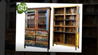Gogreen Furniture Ind. Recycled Boat Furniture Collections
