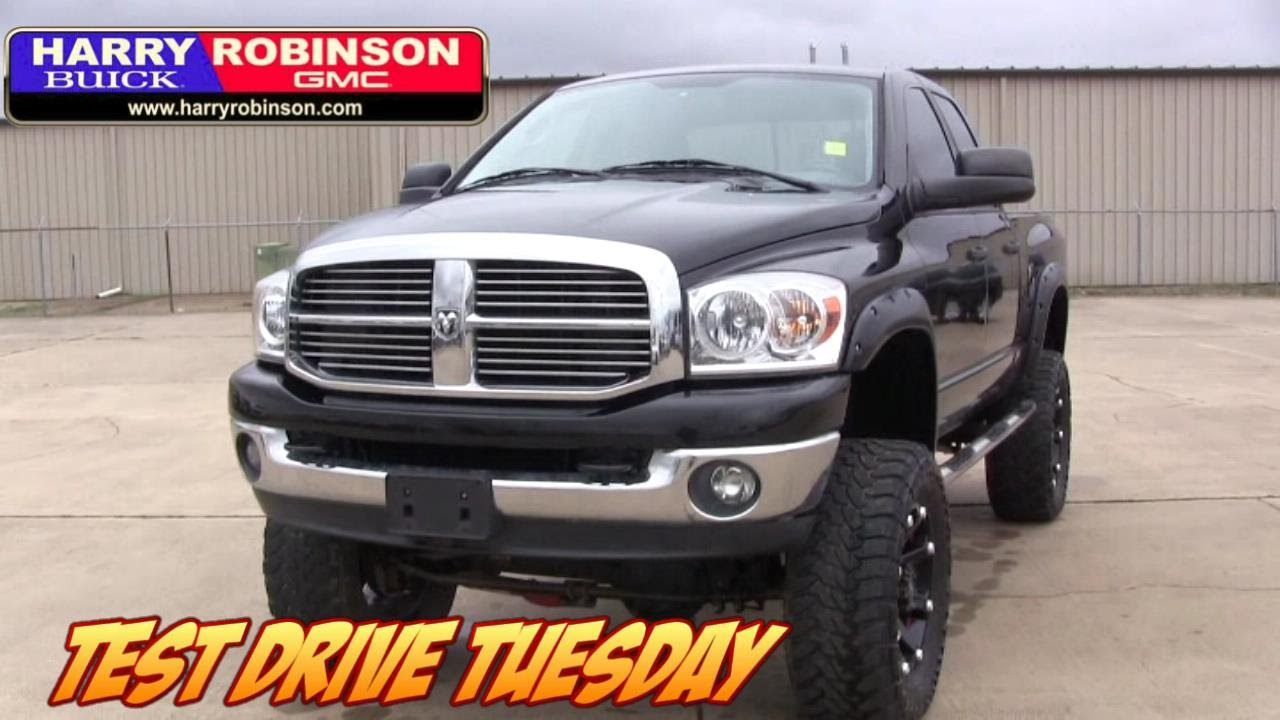 Vip test drive tuesday special lifted 2008 dodge ram 2500 diesel