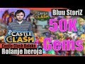 Castle Clash - 50k Gems on free to play acc