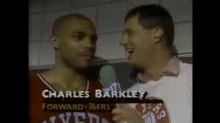 Barkley and Laimbeer fight in 1990