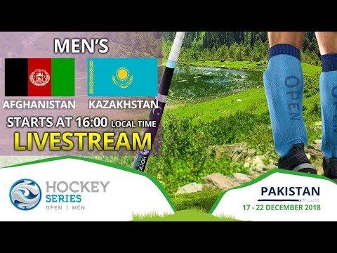 Afghanistan V Kazakstan | 2018 Men's Haier Hockey Series Open | FULL MATCH LIVESTREAM