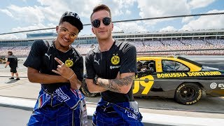 290 km/h! | 😱 | On Board with Marco Reus @ NASCAR