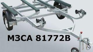 МЗСА 81772В - обзор прицепа для двух гидроциклов. ЦЛП АРИВА.